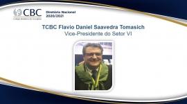 TCBC Flavio Daniel Saavedra Tomasich Vice-Presidente do Setor VI