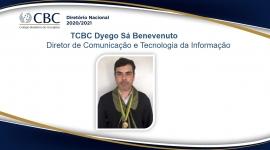 TCBC Dyego Sá Benevenuto Diretor de Comunicação e Tecnologia da Informação