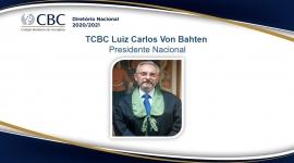 TCBC Luiz Carlos Von Bahten Presidente Nacional