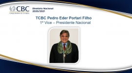 TCBC Pedro Eder Portari Filho 1º Vice – Presidente Nacional