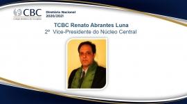 TCBC Renato Abrantes Luna 2º  Vice-Presidente do Núcleo Central