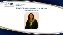 TCBC Elizabeth Gomes dos Santos  Secretária-Geral
