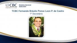 TCBC Fernando Bráulio Ponce Leon P. de Castro 1º Secretário