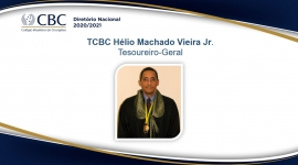 TCBC Hélio Machado Vieira Jr. Tesoureiro-Geral