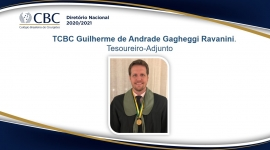 TCBC Guilherme de Andrade Gagheggi Ravanini. Tesoureiro-Adjunto