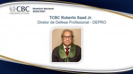 TCBC Roberto Saad Jr. Diretor de Defesa Profissional - DEPRO