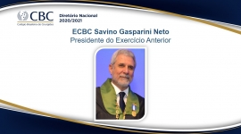 ECBC Savino Gasparini Neto  Presidente do Exercício Anterior