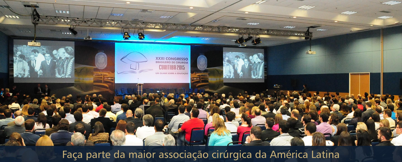 Faça parte da maior associação cirúrgica da América Latina