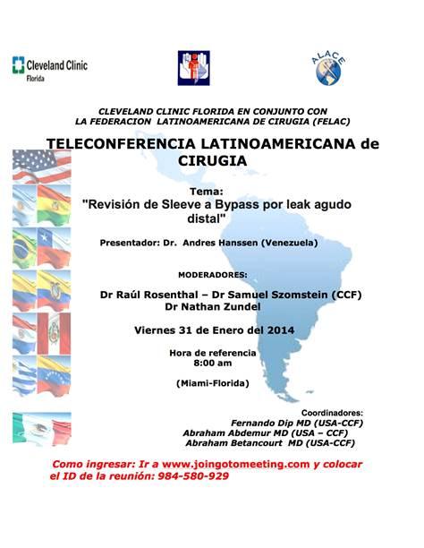 Conferencia Latinoamericana de Cirurgia
