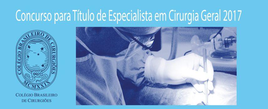 Lista aprovados Título de Especialista em Cirurgia Geral