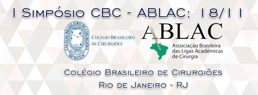 Simpósio CBC-ABLAC